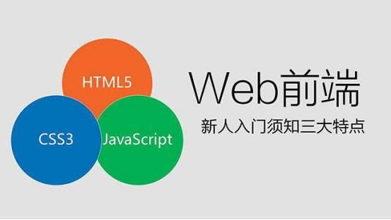 Web前端开发三要素之HTML、CSS、JavaScript